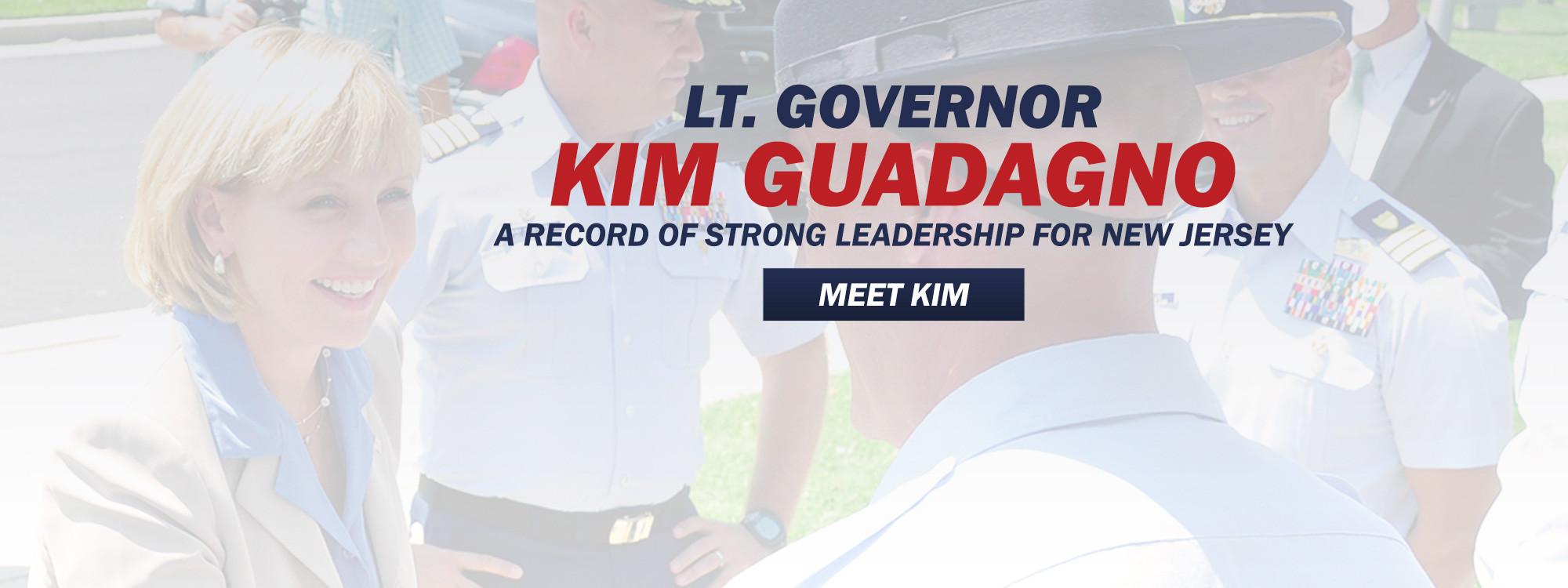 Lt. Governor Kim Guadagno