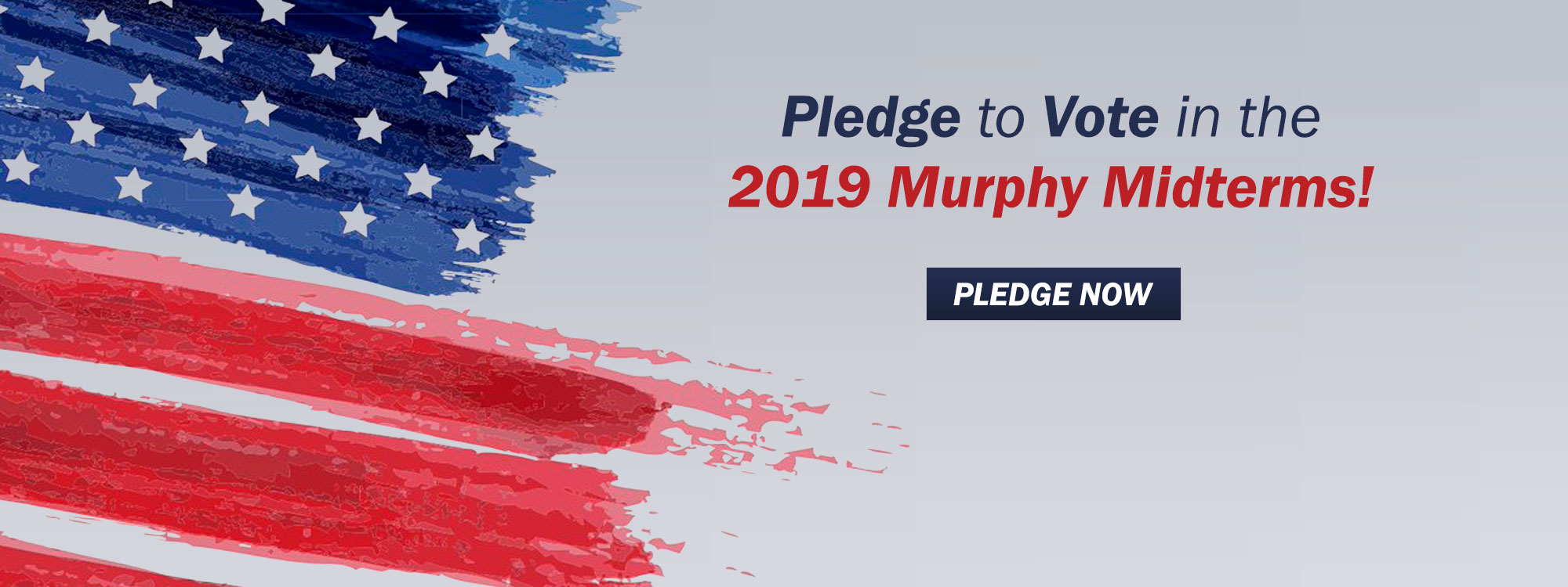 Pledge to Vote in the 2019 Murphy Midterms!