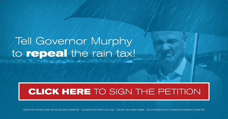 Tell Governor Murphy to repeal the rain tax!